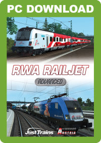 JUSTTRAINS - RWA RAILJET ADVANCED