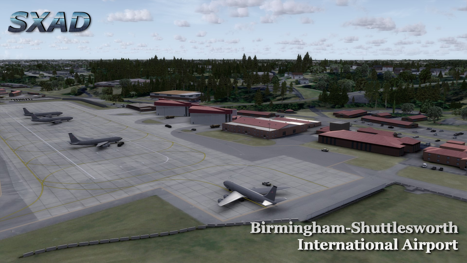SXAIRPORTDESIGN - BIRMINGHAM-SHUTTLESWORTH INTERNATIONAL AIRPORT FSX P3D