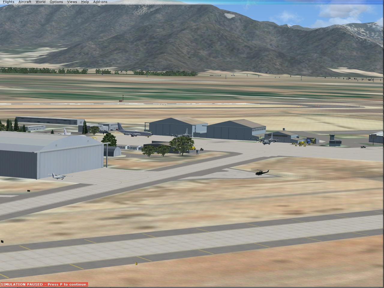 CHILE AIRPORTS 3D - ARTURO MERINO BENITEZ INTERNATIONAL AIRPORT SANTIAGO CHILE SCEL 2017 FSX P3D4