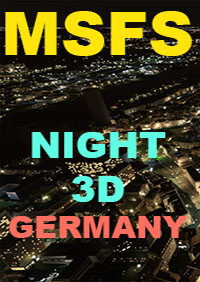 TABURET - NIGHT 3D GERMANY MSFS