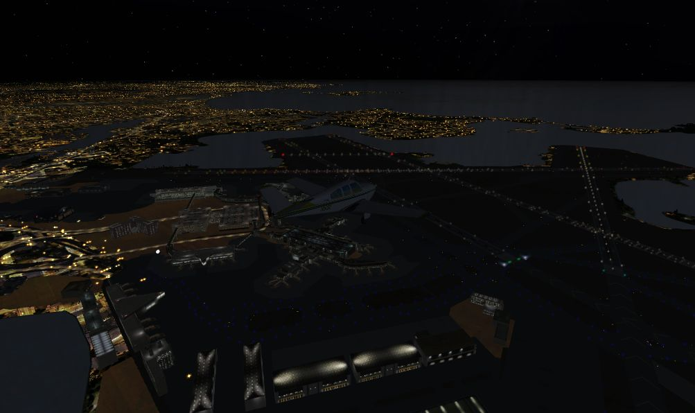 TABURET - FSX P3D NIGHT 3D MAINE NEW HAMPSHIRE VERMONT MASSACHUSETTS RHODE ISLAND CONNECTICUT