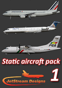 JETSTREAM DESIGNS - STATIC AIRCRAFT 1