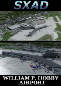 SXAIRPORTDESIGN - WILLIAM P. HOBBY AIRPORT FSX P3D4-5