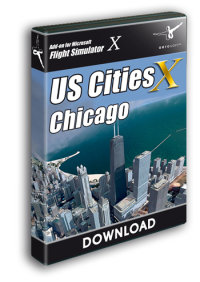 AEROSOFT - US CITIES X - CHICAGO FSX P3D
