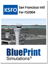 BLUEPRINT - KSFO SAN FRANCISCO INTERNATIONAL FS2004
