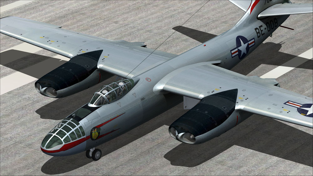 VIRTAVIA - B-45 TORNADO - FSX STEAM EDITION