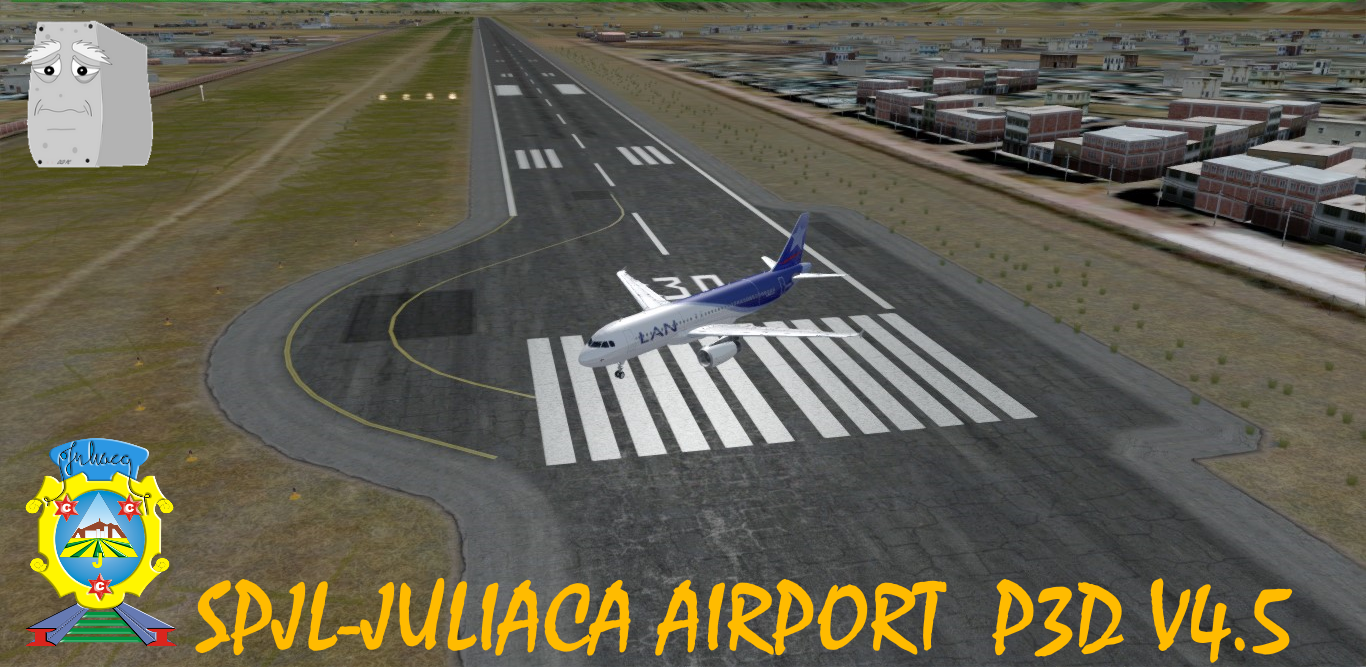 LOW-END PC STUDIOS - SPJL JULIACA AIRPORT P3DV4.5