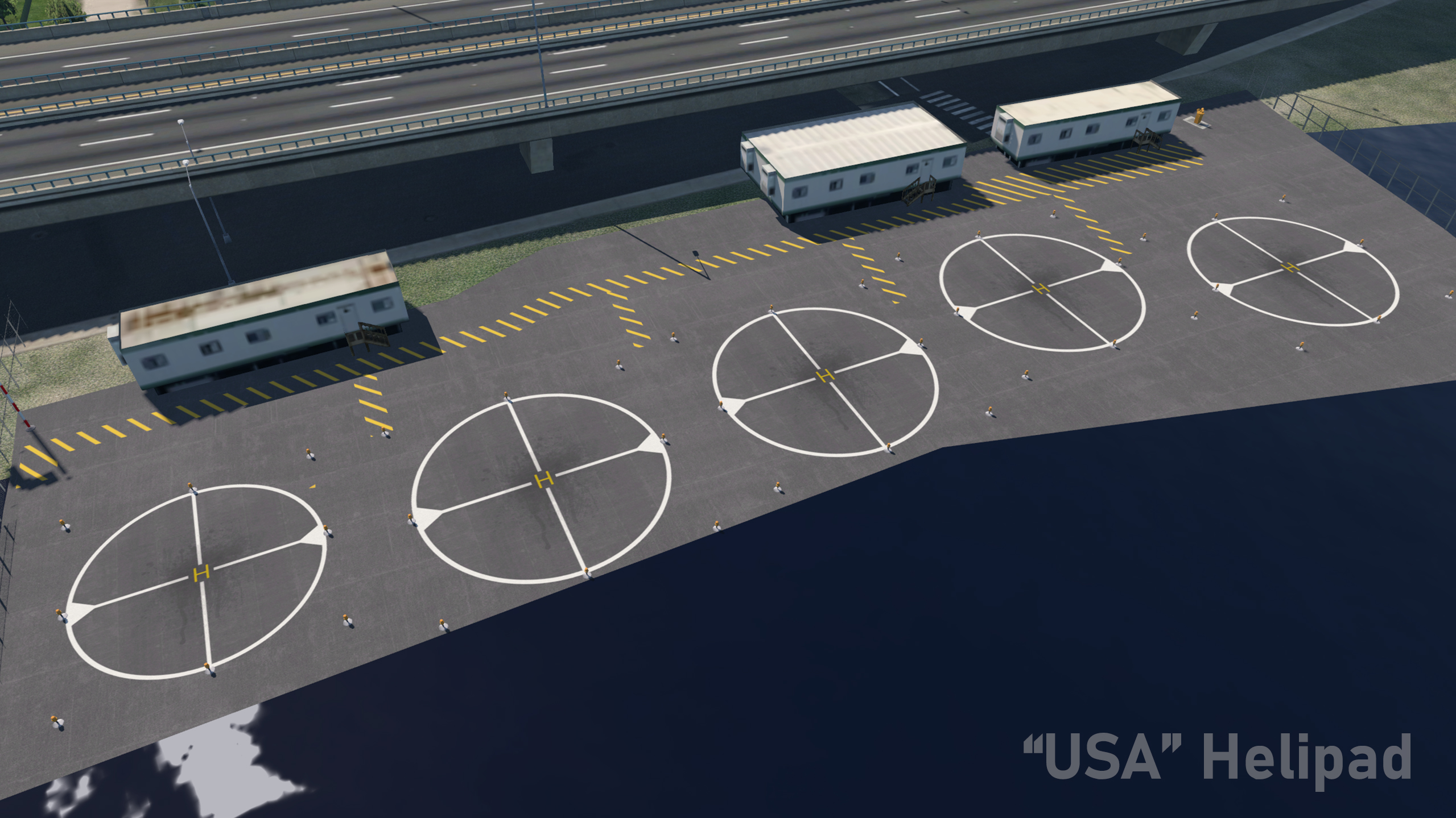 PYREEGUE DEV CO. - AIRPORT LAYOUT ENHANCEMENT SOLUTION VERSION 2 X-PLANE 11