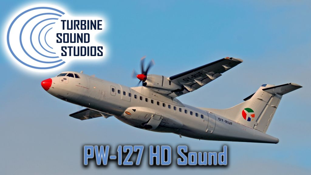 TURBINE SOUND STUDIOS - ATR-42/72 PW-127 HD SOUNDPACK FS2004