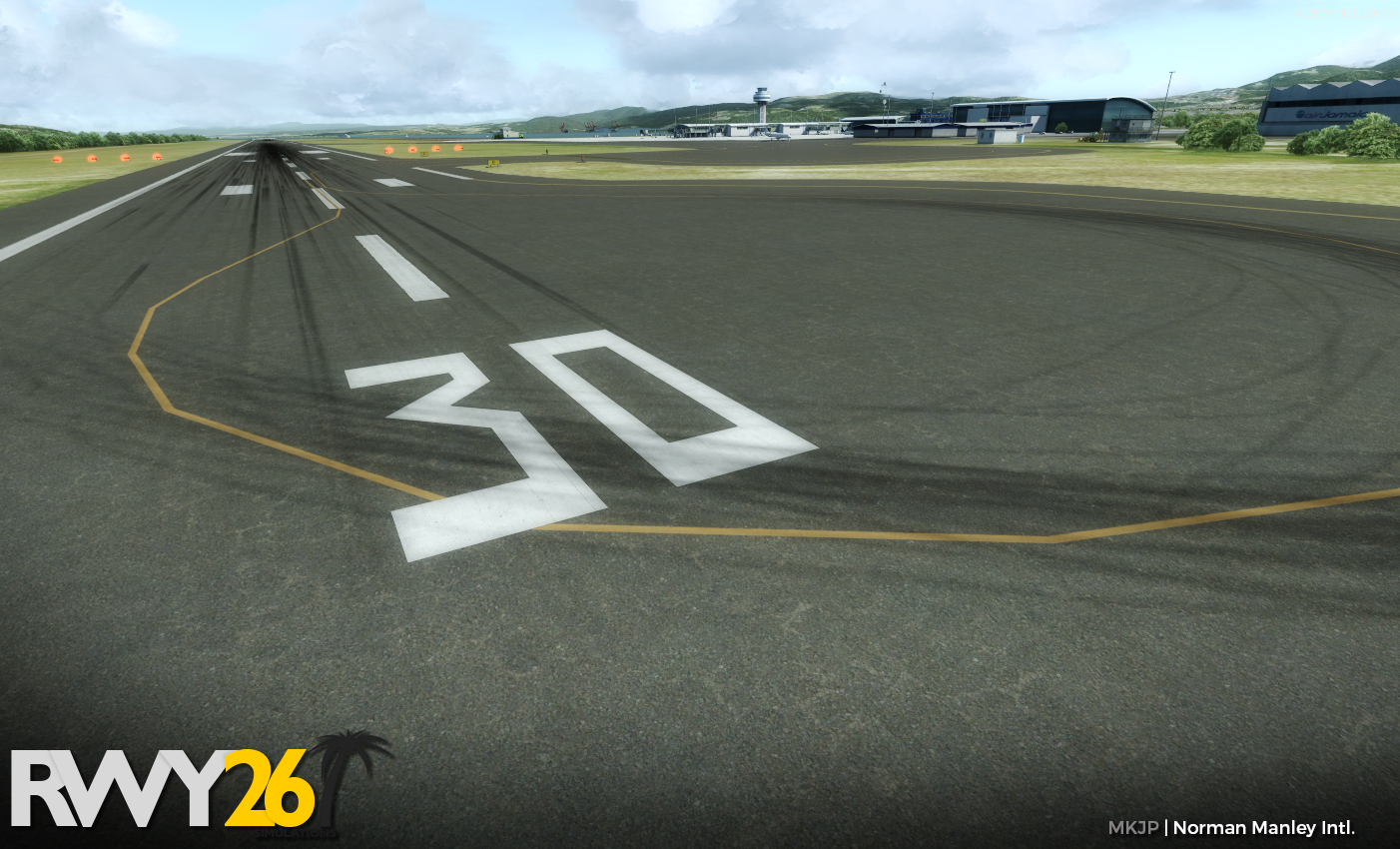 RWY26 SIMULATIONS - NORMAN MANLEY INTERNATIONAL AIRPORT FSX P3D