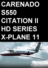 CARENADO - S550 CITATION II HD SERIES X-PLANE 11