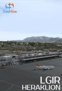 JUSTSIM - HERAKLION INTERNATIONAL AIRPORT P3D4