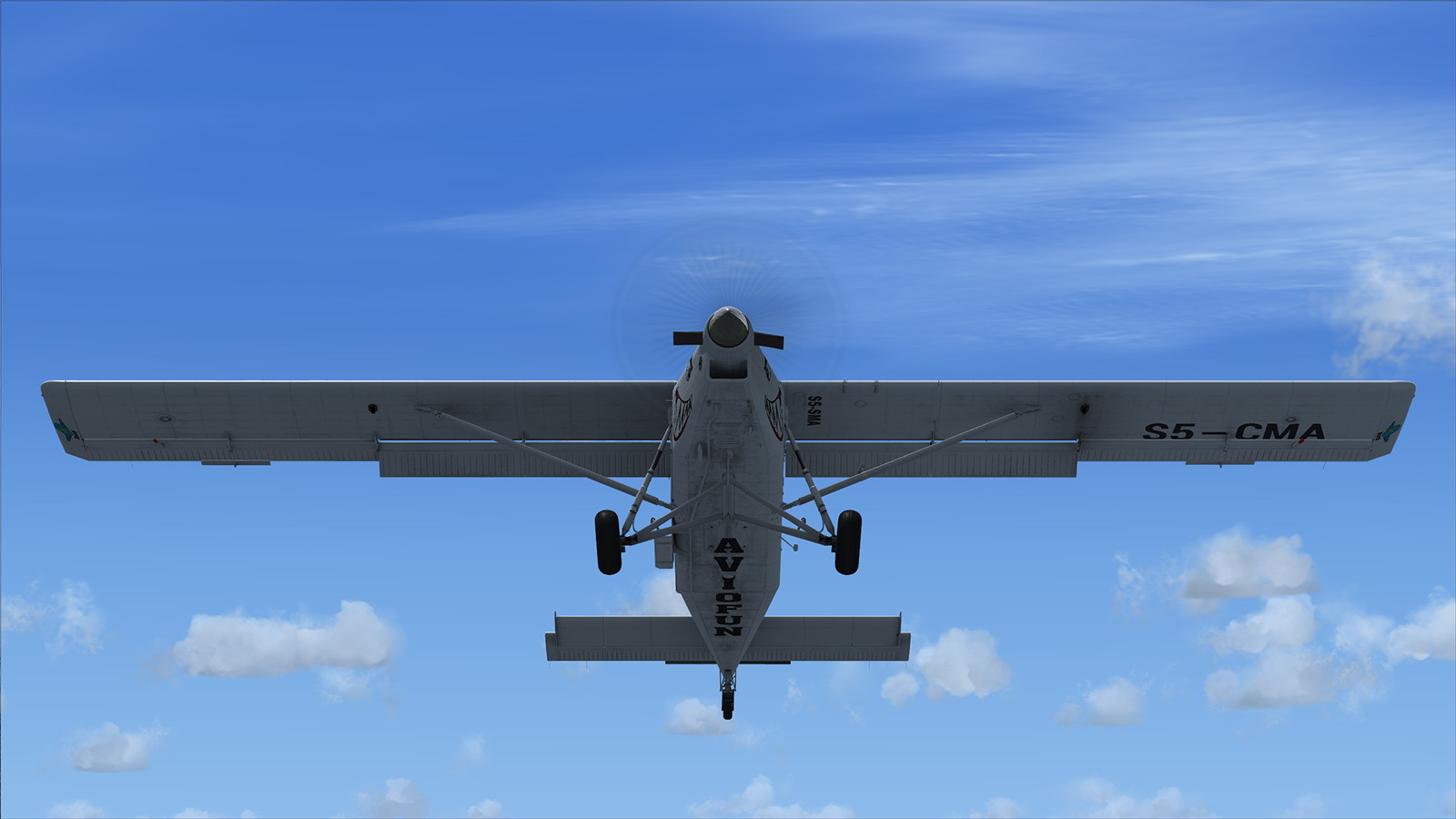 MILVIZ - PC-6 TURBO-PORTER FOR FSX STEAM EDITION