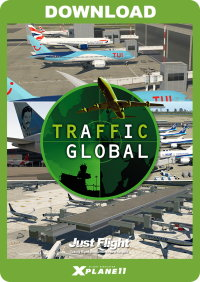JUSTFLIGHT - TRAFFIC GLOBAL FOR X-PLANE 11 WINDOWS VERSION