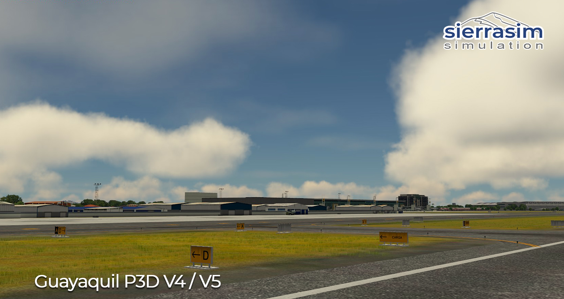 SIERRASIM SIMULATION - SEGU JOSE JOAQUIN DE OLMEDO INTERNATIONAL AIRPORT P3D