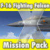 AEROSOFT - F-16 FIGHTING FALCON X - MISSION PACK (DOWNLOAD)