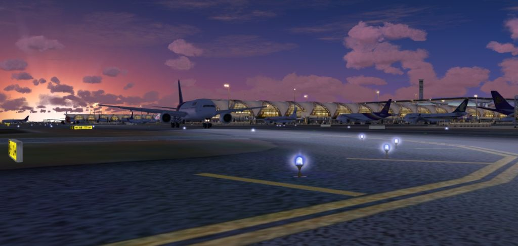 BANGKOK AIRPORT VOL1 SUVARNABHUMI INTERNATIONAL FS2004