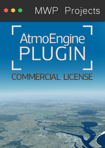 MWP PROJECTS - ATMOENGINE PLUGIN COMMERCIAL LICENSE P3D4