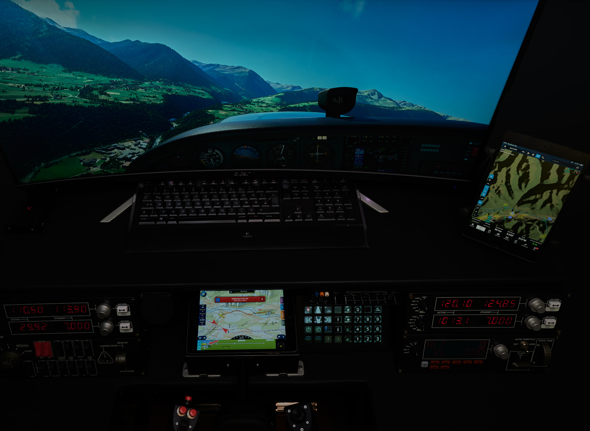 MICHAEL KULKE - XMAPSY V3 THE EFB - CONNECTOR FSX P3D MSFS X-PLANE