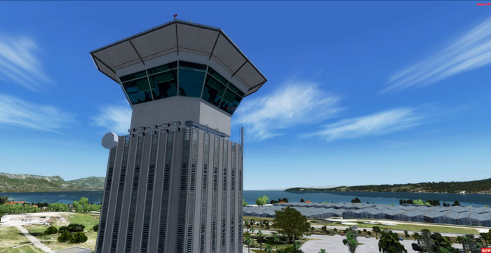 DAVOR PULJEVIC - SPLIT AIRPORT (LDSP) P3D V5 (SLOPED) & V4.5+
