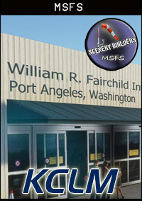 FSXCENERY - KCLM WILLIAM R. FAIRCHILD INTERNATIONAL AIRPORT MSFS