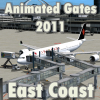 FLYSIMWARE - ANIMATED GATES 2011 EAST COAST