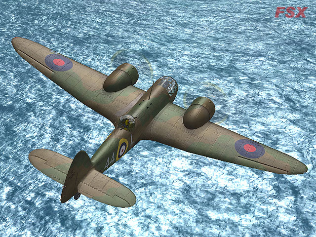 VIRTAVIA - BRISTOL BLENHEIM MK.4 - FSX STEAM EDITION DLC