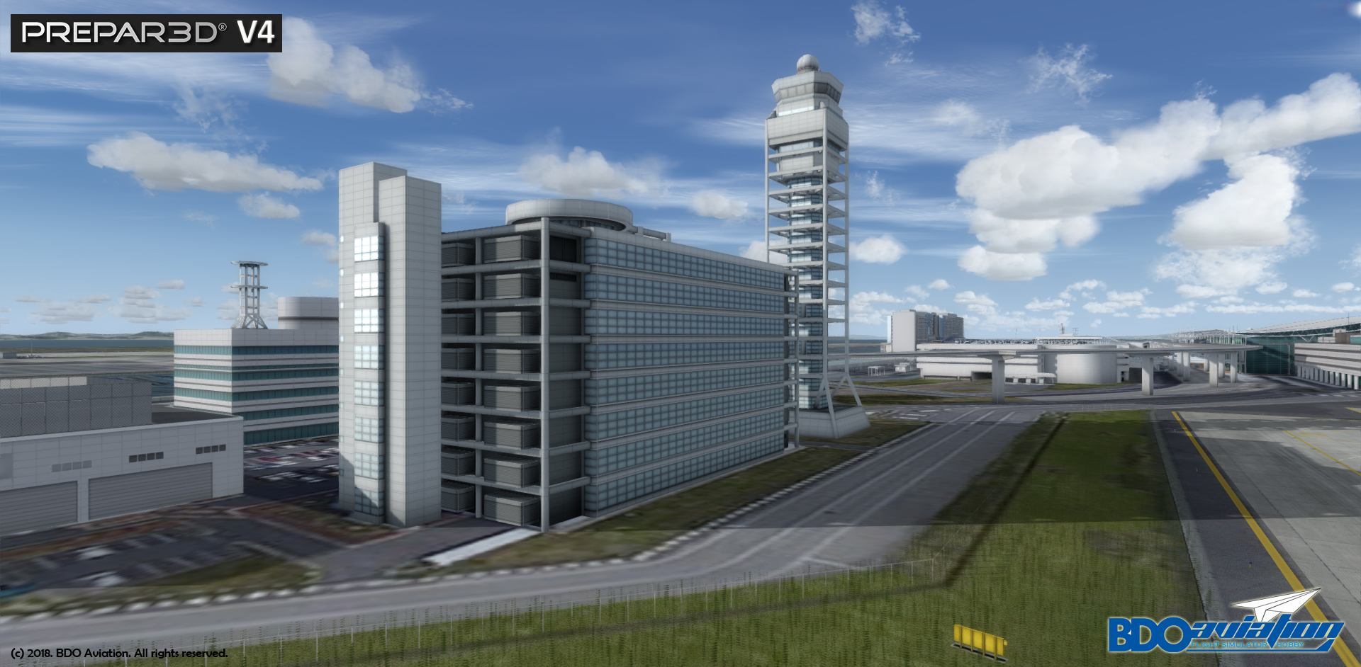 BDOAVIATION - KANSAI INTL AIRPORT FSX P3D FS2004