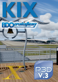 BDOAVIATION - KANSAI INTL AIRPORT FSX P3D