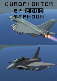 FLYFREESTD - EUROFIGHTER EF-2000 TYPHOON V2 P3D4
