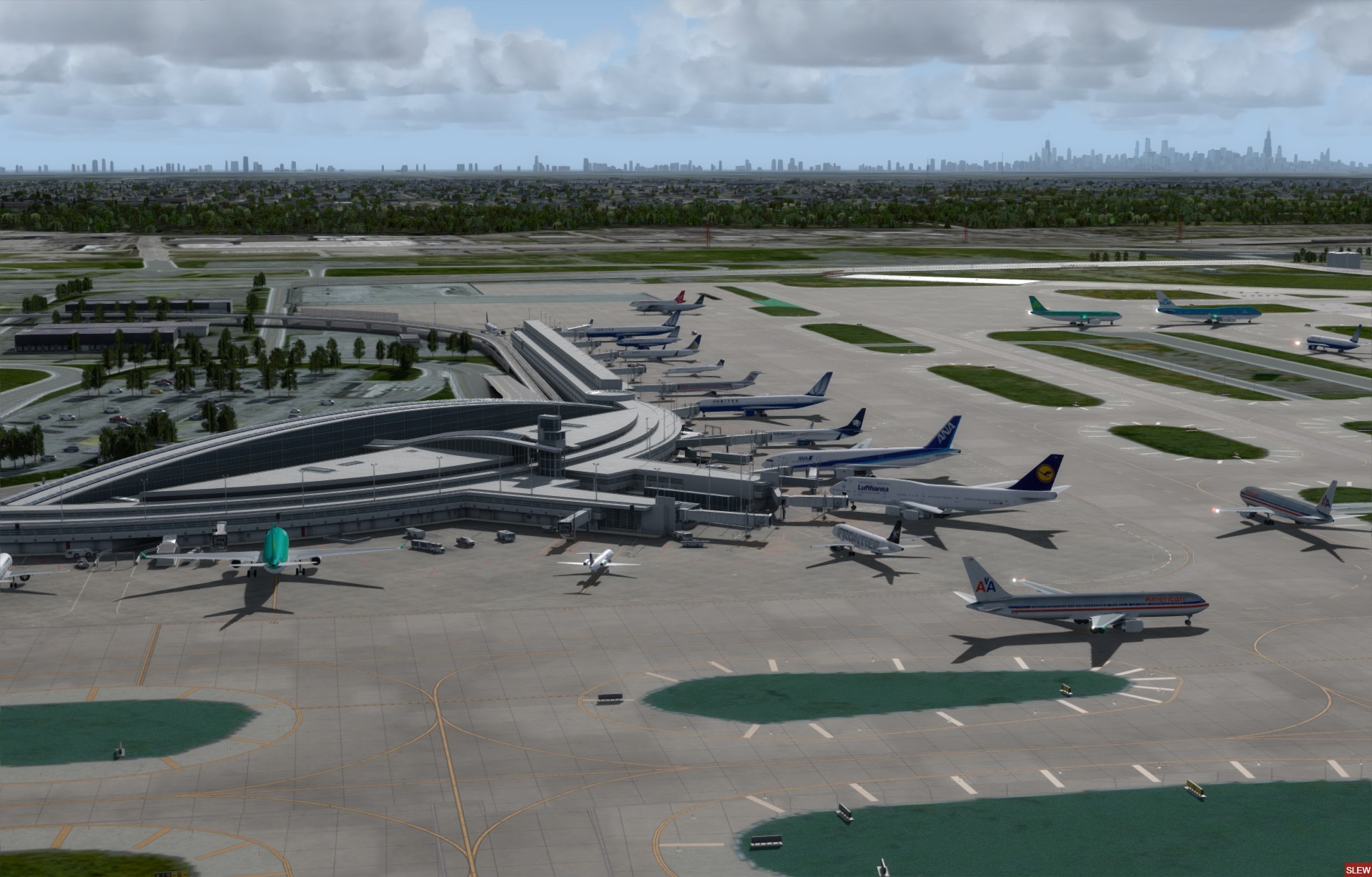 FSDREAMTEAM - CHICAGO O'HARE VERSION 2 - 2019 P3D4.4+