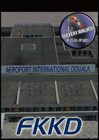 FSXCENERY - FKKD DOUALA INTERNATIONAL AIRPORT  FSX P3D