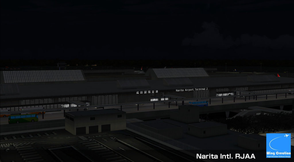WING CREATION INC - NARITA INTERNATIONAL AIRPORT RJAA FSX P3D