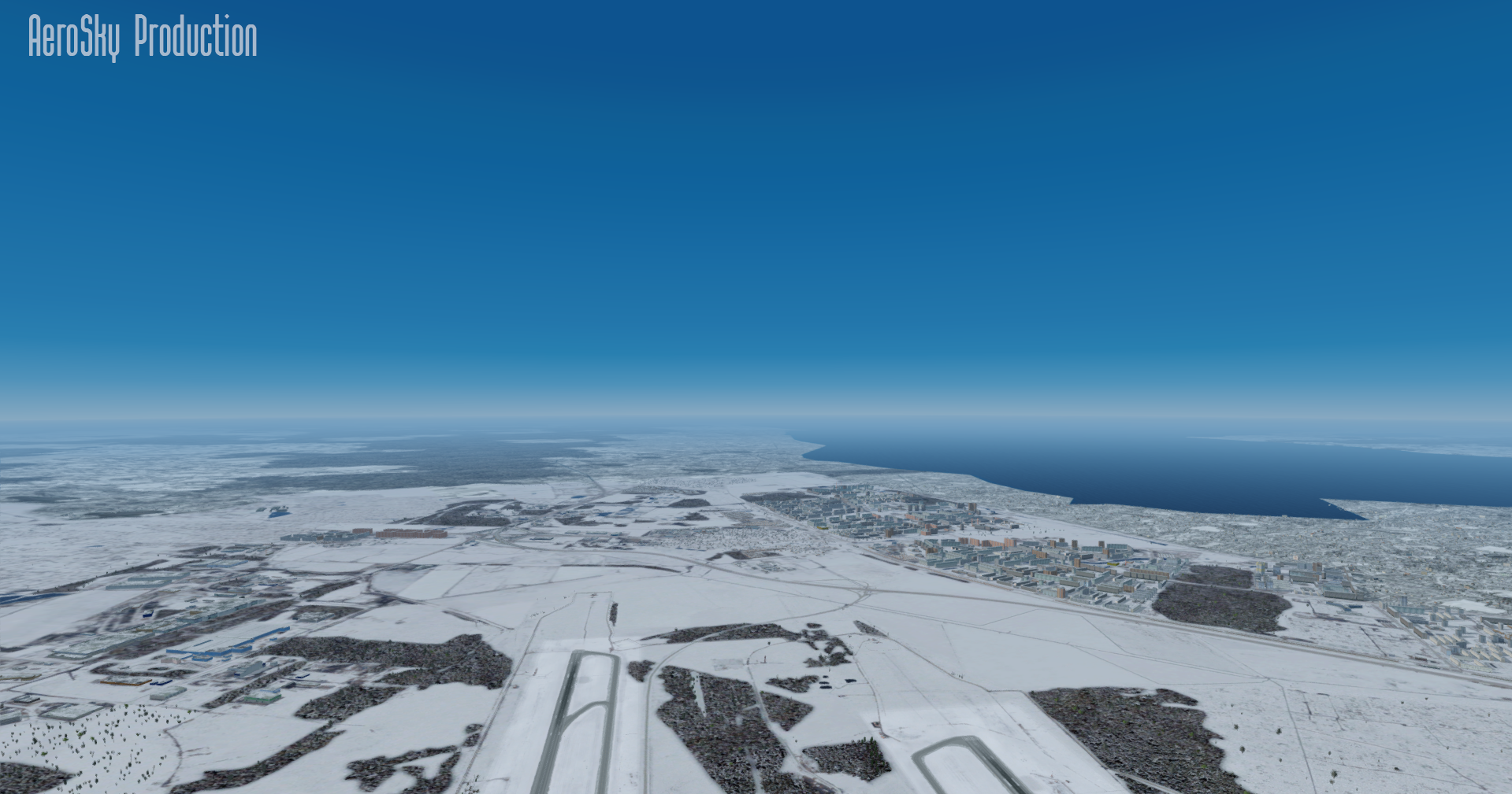 AEROSKY PRODUCTION - WINTER STORY P3D4