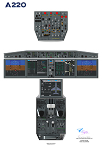 FYCYC - A220-COCKPIT POSTER-DIGITAL
