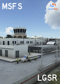 JUSTSIM - SANTORINI INTERNATIONAL AIRPORT MSFS