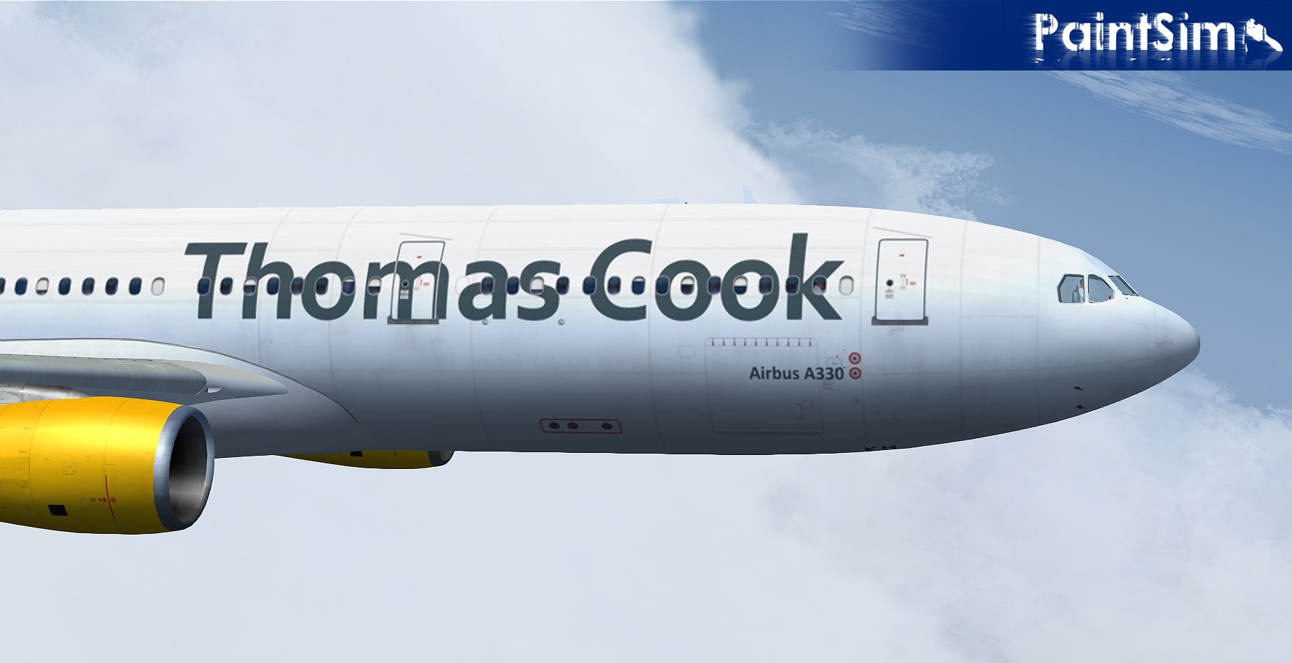 PAINTSIM - HD TEXTURE PACK 2 FOR WILCO AIRBUS A330-300 FS2004