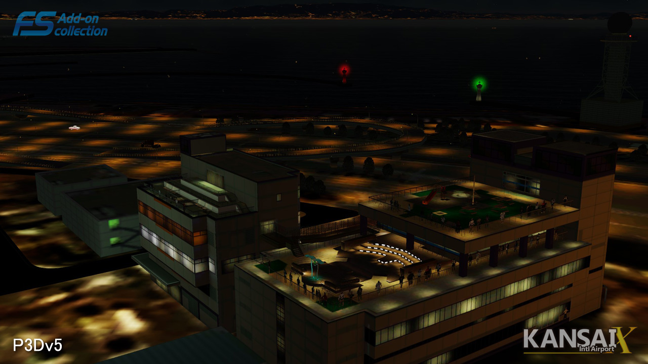 TECHNOBRAIN - FS ADD-ON COLLECTION KANSAI INTL AIRPORT FSX P3D