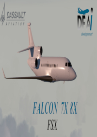 DFAI DEVELOPPEMENT - FALCON 7X AND FALCON 8X FSX