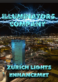 ZURICH NIGHT LIGHT ENHANCED FOR MSFS