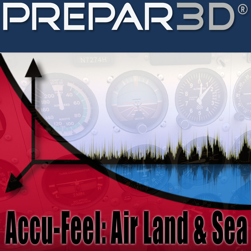 A2A SIMULATIONS - ACCU-FEEL V2 - AIR, LAND & SEA P3D PROFESSIONAL
