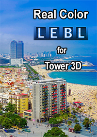 NYERGES DESIGN - REAL COLOR LEBL FOR TOWER! 3D