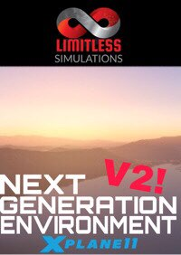 LIMITLESS SIMULATIONS - NEXT GENERATION ENVIRONMENT V2 环境美化 X-PLANE 11