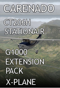 CARENADO - CT206H STATIONAIR G1000 EXTENSION PACK X-PLANE 10