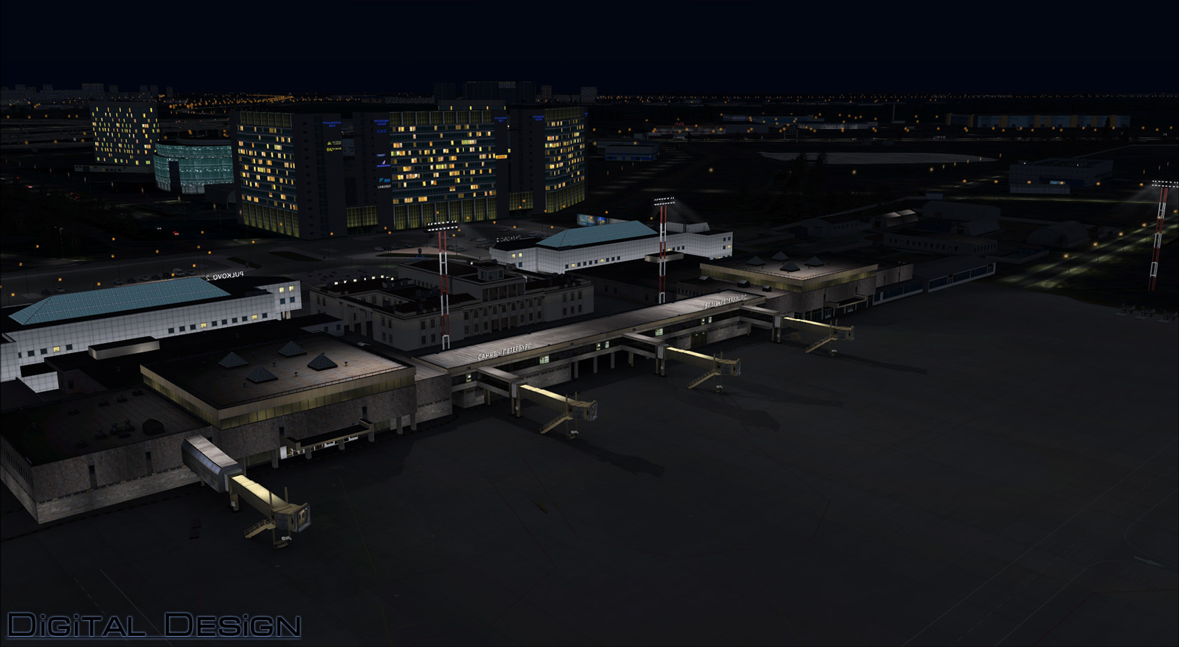 DIGITAL DESIGN - ULLI ST. PETERSBURG X V2 FSX P3D