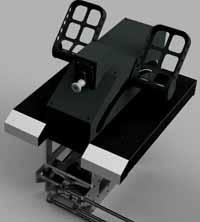 COCKPITSONIC GMBH - B737 RUDDER PEDALS (SINGLE)