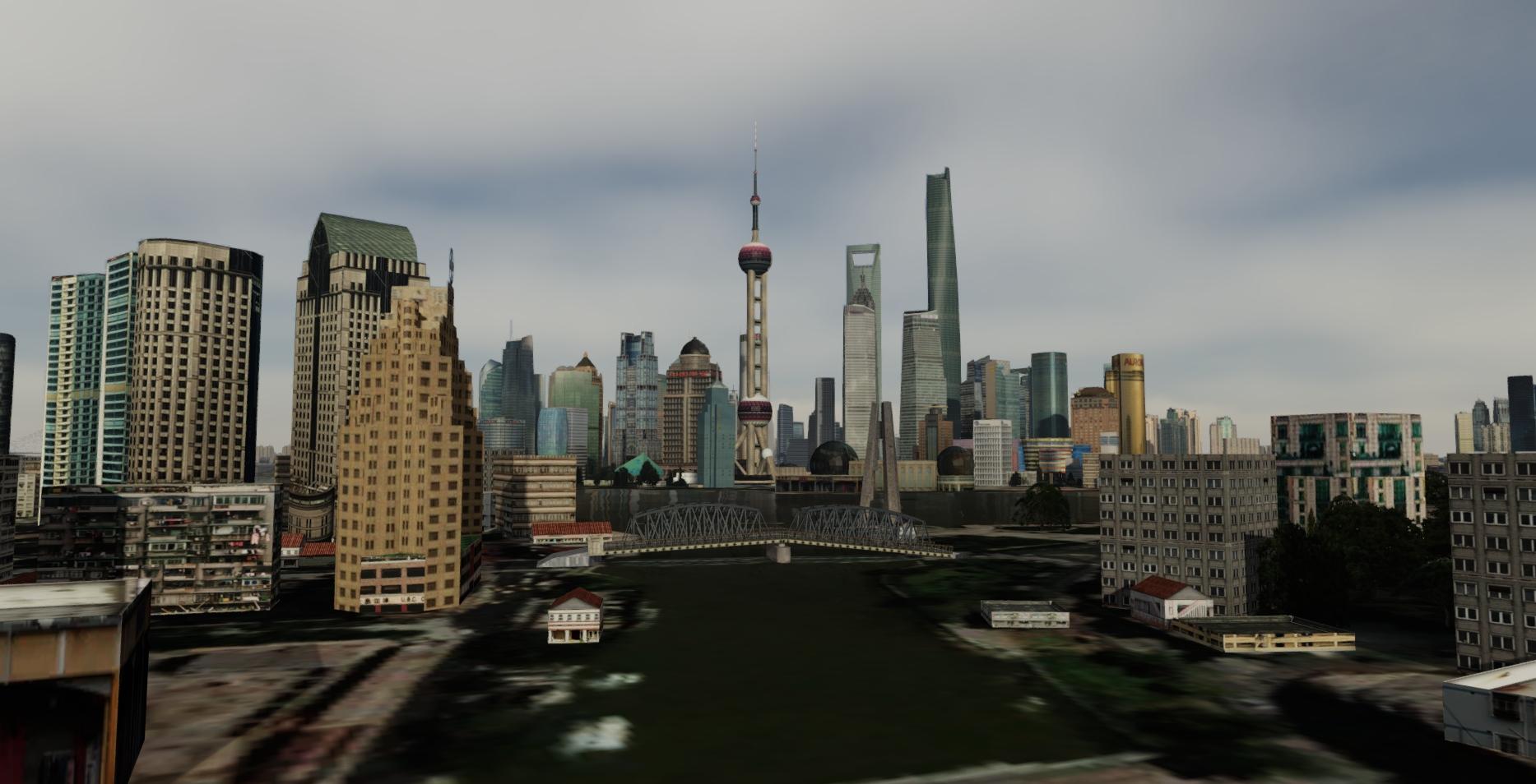 SAMSCENE - SHANGHAI CITY TIMES FSX P3D