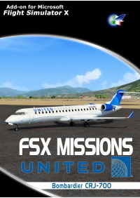 PERFECT FLIGHT - FSX MISSIONS – UNITED CRJ-700
