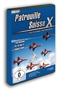 AEROSOFT - FLYLOGIC - PATROUILLE SUISSE X FSX ONLY (DOWNLOAD)