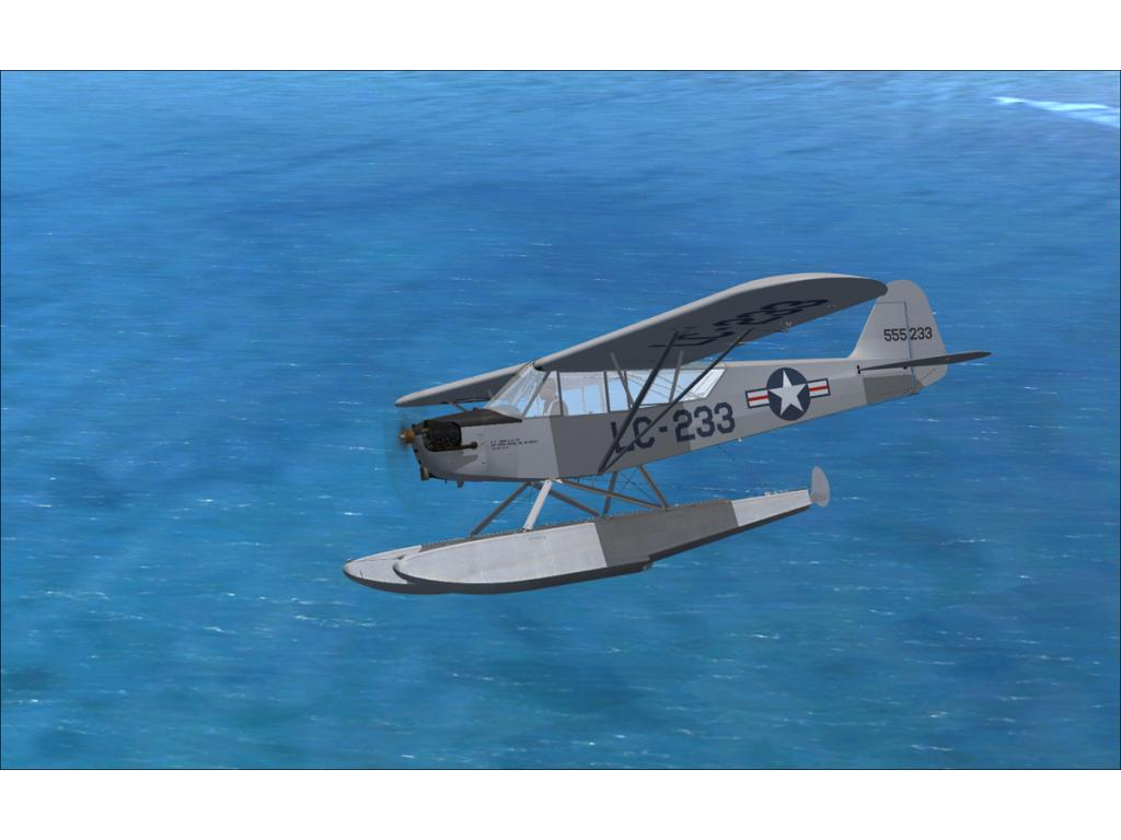 FLIGHT REPLICAS - L-4 GRASSHOPPER FLOATPLANE